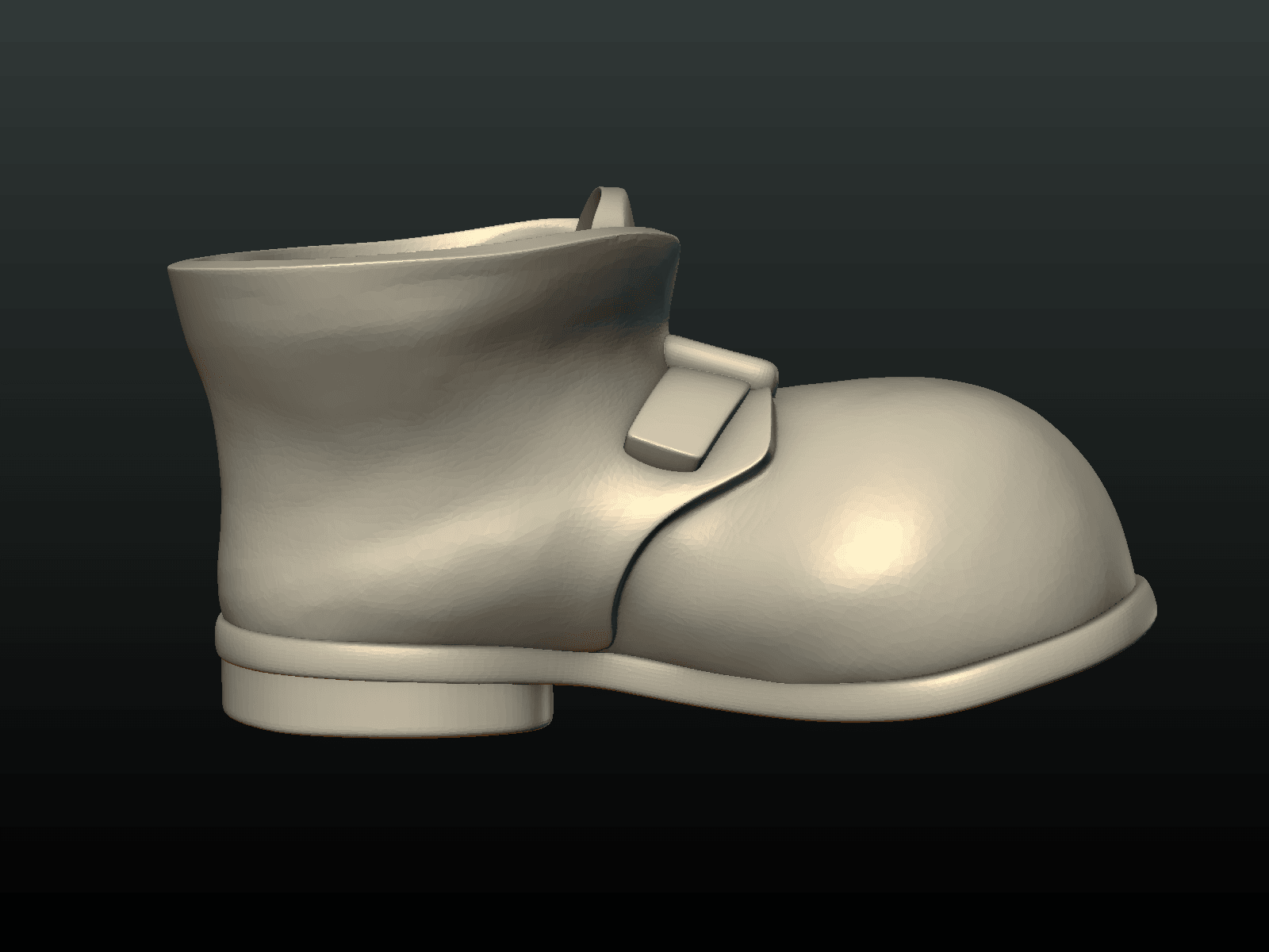 Boot-03.png Download 3DS file Boot • Model to 3D print, Skazok