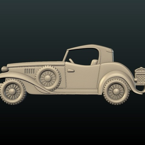 Car_box-01.jpg Download STL file Car Relief • Design to 3D print, Skazok