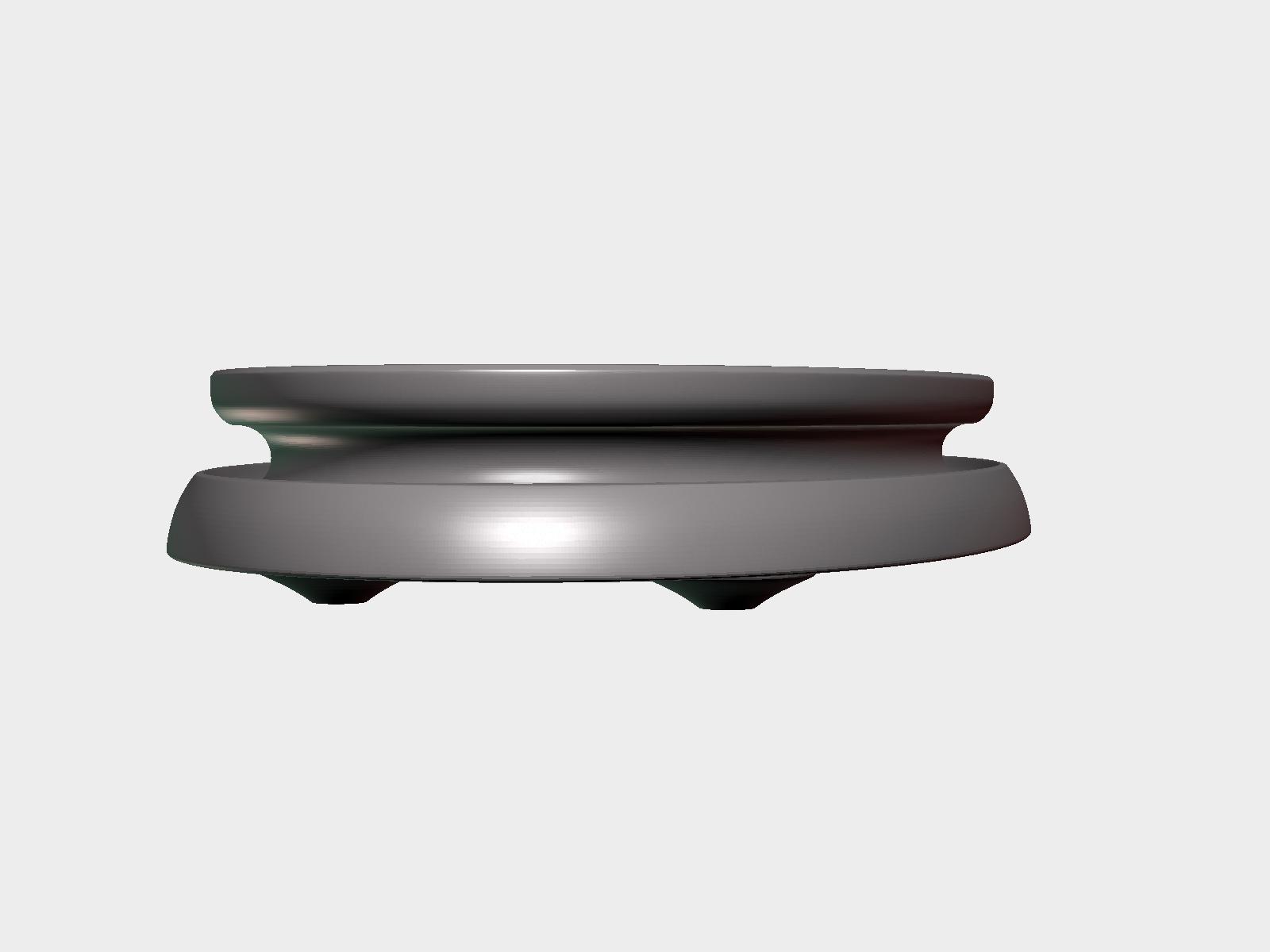 Stand-014.png Download 3DS file Base for sculptures • Model to 3D print, Skazok