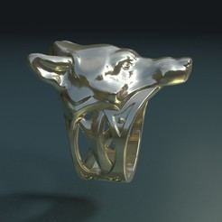 Download 3D model Wolf Ring, Skazok