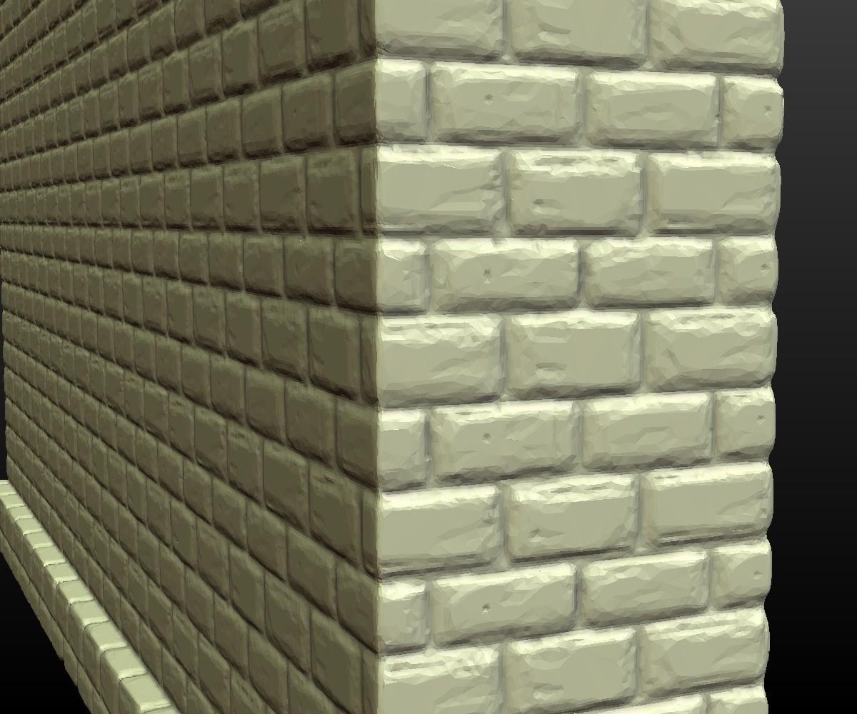 Castle_Wall-009.jpg Download 3DS file Castle wall • 3D printable design, Skazok