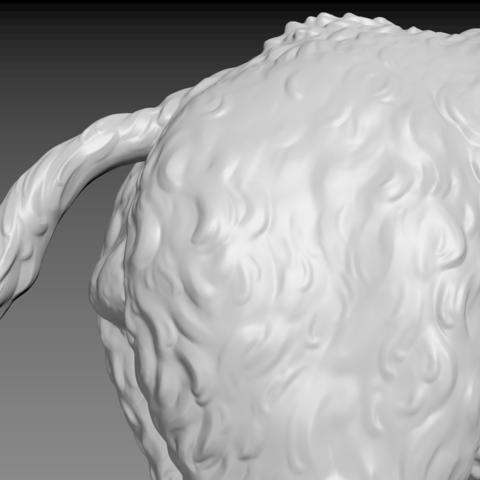 boar-10.png Download STL file Boar • 3D printable design, Skazok