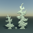 two_firtree-signature.png Download 3DS file Two fir trees • 3D printer design, Skazok