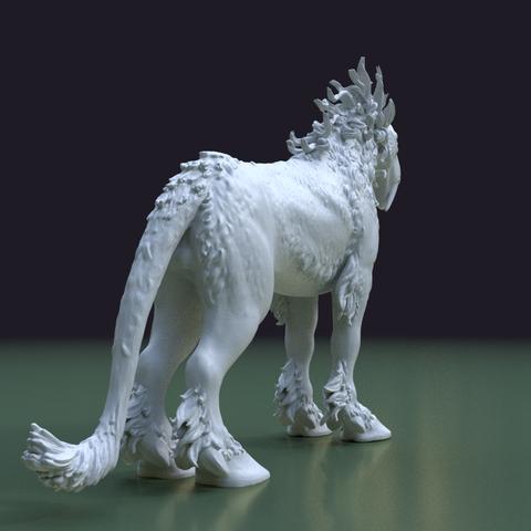 Fantasdy_beast-0006.png Download 3DS file Fantasy Beast • 3D printable template, Skazok