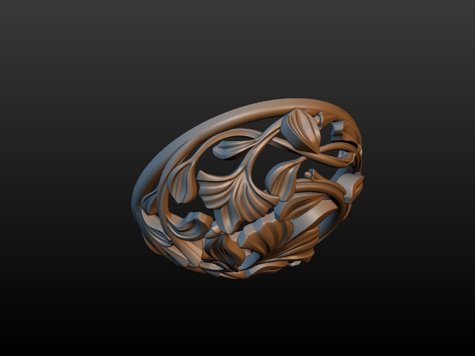 Earring-05.jpg Download STL file Earring • 3D printing template, Skazok