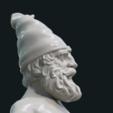 STL file Naked Gnome, Skazok