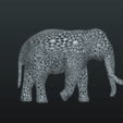 Mesh_Elephant-10.png Download STL file Mesh Elephant • 3D printer design, Skazok