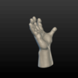 Hand-03.png Download 3DS file Hand • Object to 3D print, Skazok