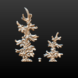 two_firtree-05.png Download 3DS file Two fir trees • 3D printer design, Skazok