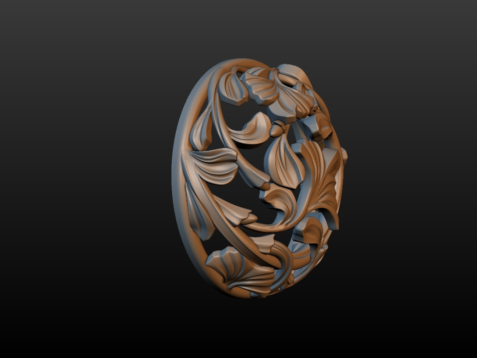 Earring-04.jpg Download STL file Earring • 3D printing template, Skazok