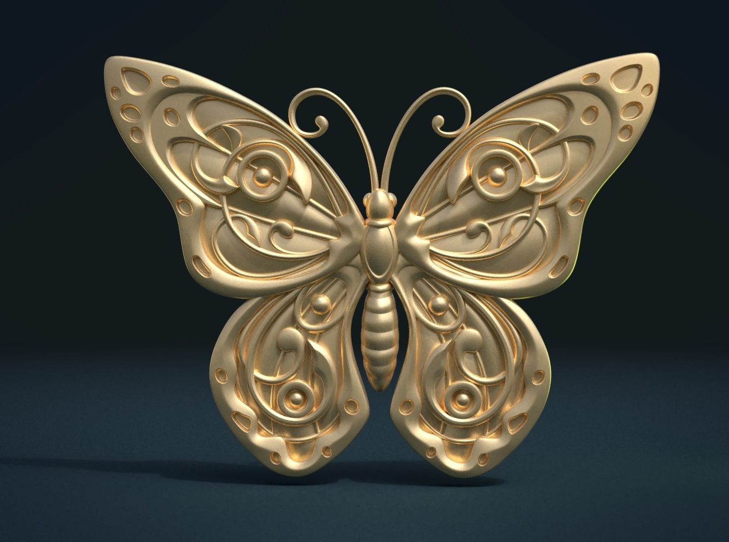 Butterfly_G_Cycles-0001.jpg Download STL file Butterfly relief • Model to 3D print, Skazok