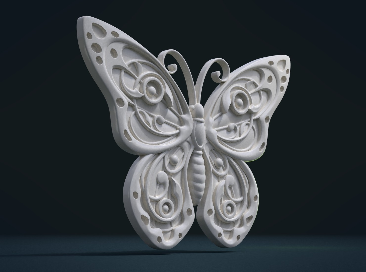 Butterfly_Cycles-0002.jpg Download STL file Butterfly relief • Model to 3D print, Skazok