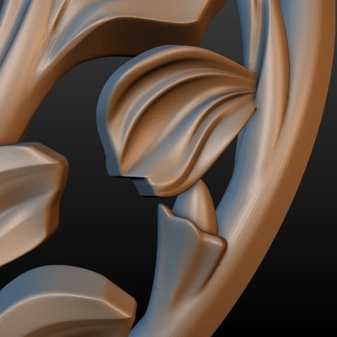 Earring-09.jpg Download STL file Earring • 3D printing template, Skazok