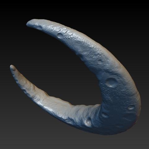 crescent_007.png Download OBJ file Crescent • 3D printable model, Skazok