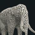 Mesh_Elephant_C-02.png Download STL file Mesh Elephant • 3D printer design, Skazok