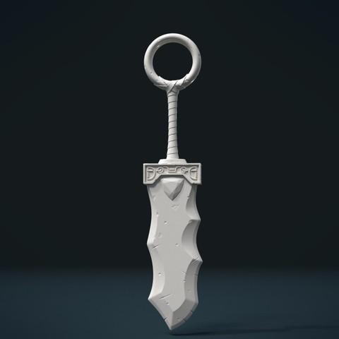 Télécharger fichier 3D Épée de fantaisie, Skazok