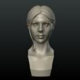 Girl_Head_I-0002.png Download 3DS file Girls Head • 3D print object, Skazok