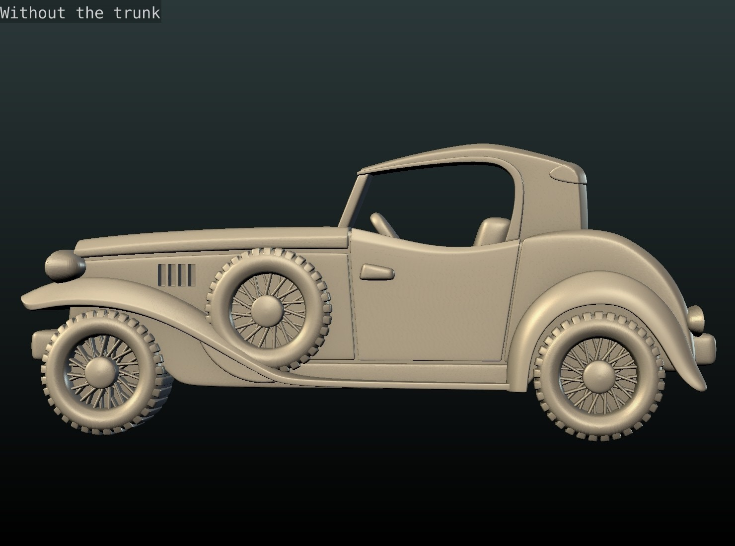 Car_box-07.jpg Download STL file Car Relief • Design to 3D print, Skazok
