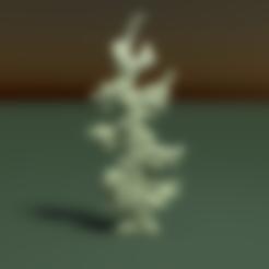 Download 3DS file Fir tree • 3D printable template, Skazok