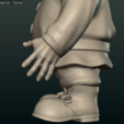 Garden_Gnome-27.png Download STL file Garden Gnome • 3D printing design, Skazok