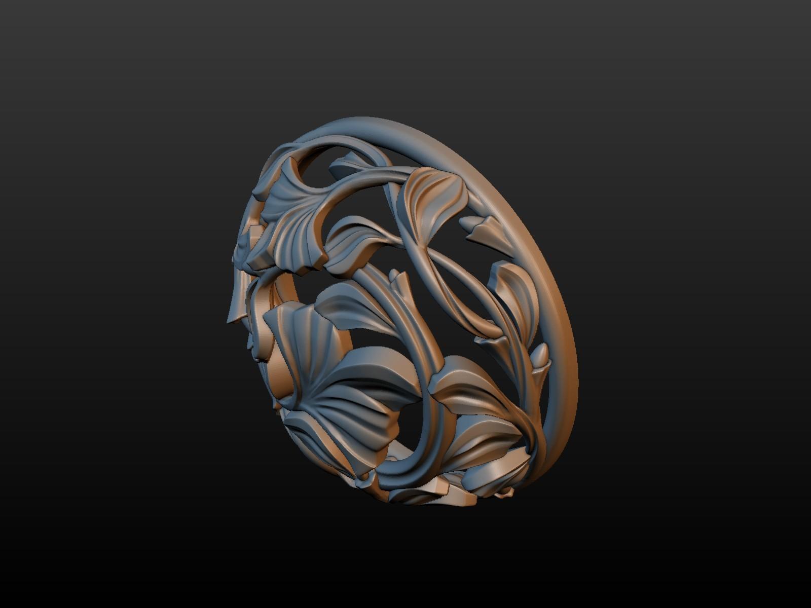 Earring-03.jpg Download STL file Earring • 3D printing template, Skazok