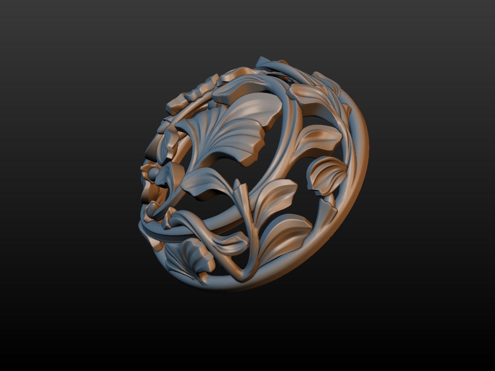 Earring-02.jpg Download STL file Earring • 3D printing template, Skazok