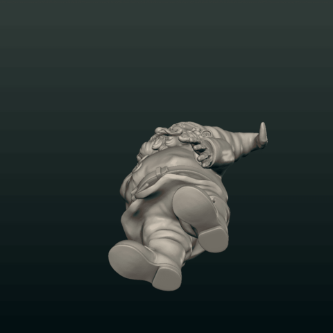 Garden_Gnome-10.png Download STL file Garden Gnome • 3D printing design, Skazok