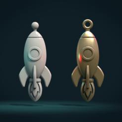 RR_02.png Download STL file Rocket Bas-Relief • 3D print template, Skazok