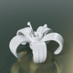 3D printer models Flower, Skazok