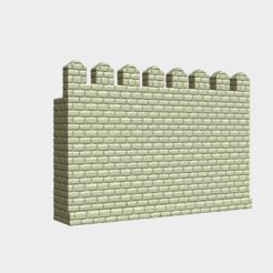 3D printer files Castle wall, Skazok
