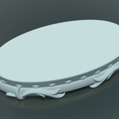 3D file Base for sculpture II, Skazok