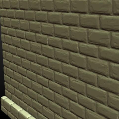 Castle_Wall-008.jpg Download 3DS file Castle wall • 3D printable design, Skazok
