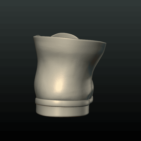 Boot-06.png Download 3DS file Boot • Model to 3D print, Skazok