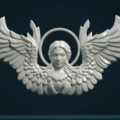 Download 3D printing files Angel Relief, Skazok