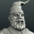 3D print model Gnome Sculpture, Skazok