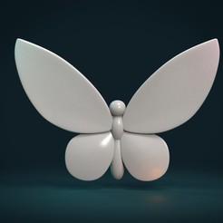 BI-01.jpg Télécharger fichier STL Papillon I • Plan pour impression 3D, Skazok