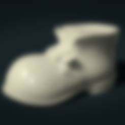 Boots.stl Download 3DS file Boot • Model to 3D print, Skazok