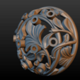 Earring-18.png Download STL file Earring • 3D printing template, Skazok