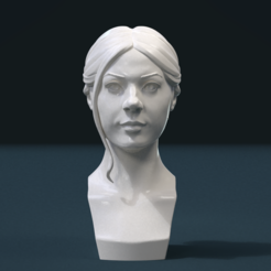 Download STL file Girls Head, Skazok