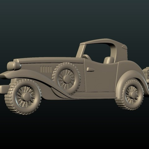 Car_box-02.jpg Download STL file Car Relief • Design to 3D print, Skazok