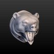 3D printer files Bear Head, Skazok