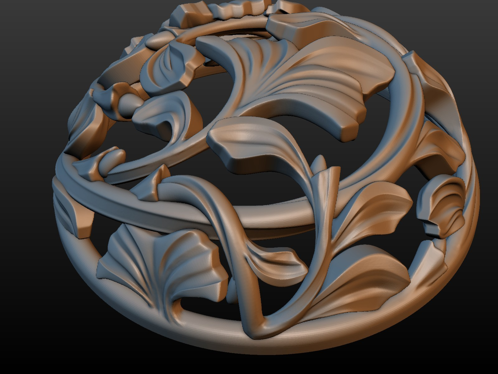 Earring-08.jpg Download STL file Earring • 3D printing template, Skazok