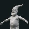 Download 3D printer designs Naked Gnome, Skazok