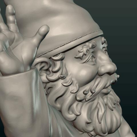 Garden_Gnome-13.png Download STL file Garden Gnome • 3D printing design, Skazok