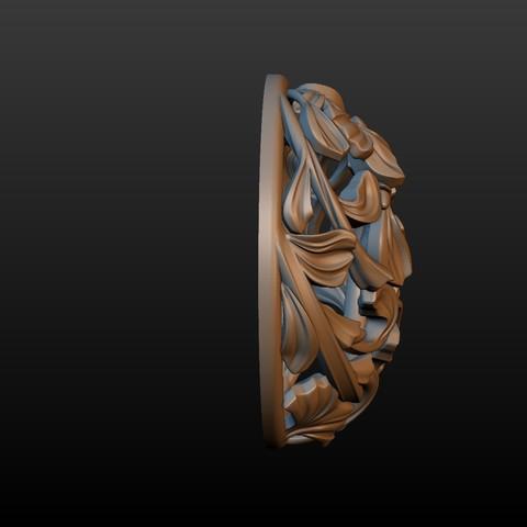 Earring-07.jpg Download STL file Earring • 3D printing template, Skazok