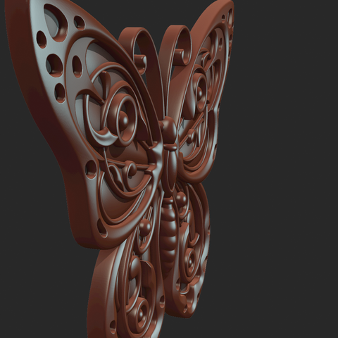 Butterfly_OPGL_28-06.png Download STL file Butterfly relief • Model to 3D print, Skazok
