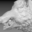 boar-08.png Download STL file Boar • 3D printable design, Skazok