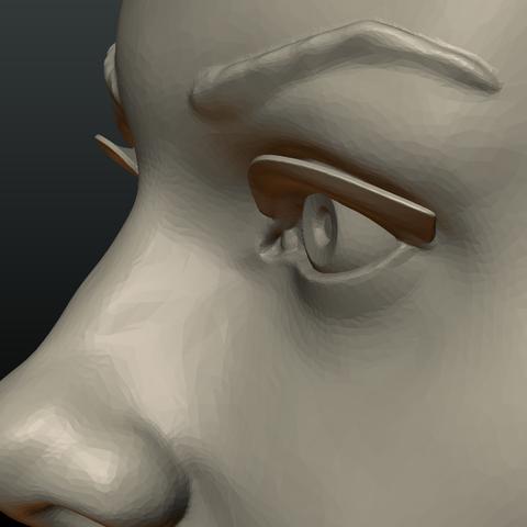 G_Head-10.png Download 3DS file Girls Head • 3D print object, Skazok