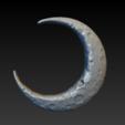 crescent_006.png Download OBJ file Crescent • 3D printable model, Skazok