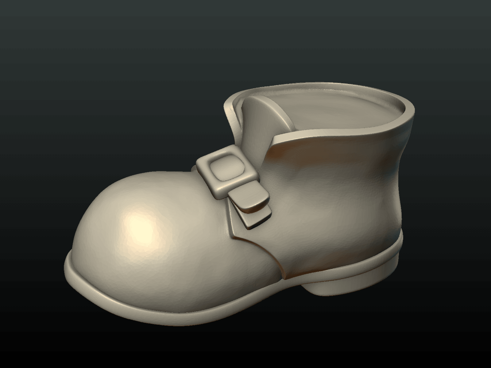 Boot-09.png Download 3DS file Boot • Model to 3D print, Skazok